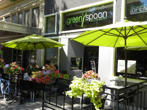 Green Spoon Exterior