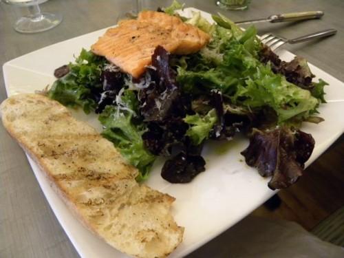 Green Spoon Salmon and Asparagus Salad