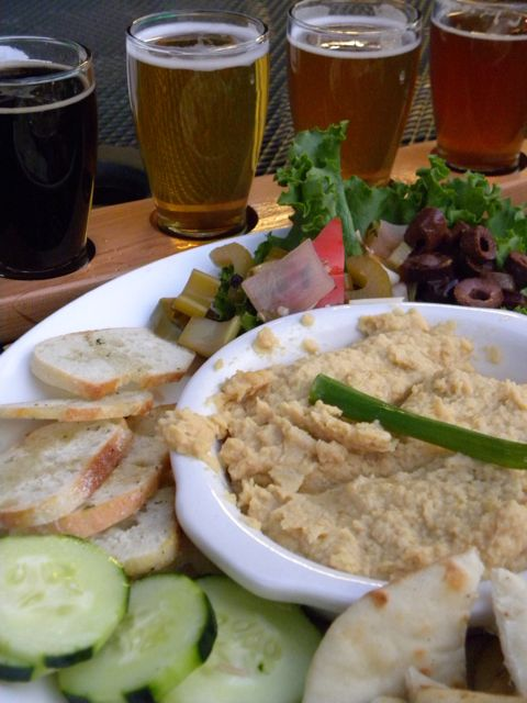 Sunriver Brewing Hummus