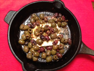 Baked Feta and Olives