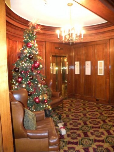 Sorrento Hotel Christmas Tree