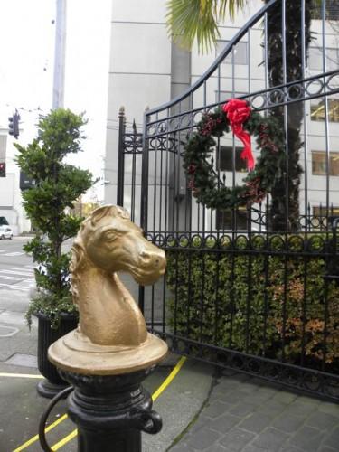 Sorrento Hotel Horse and Wreath