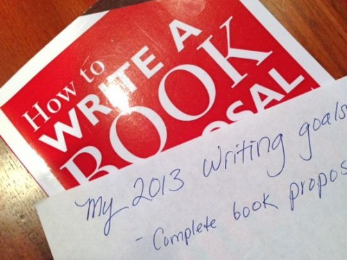 2013 Writing Goals