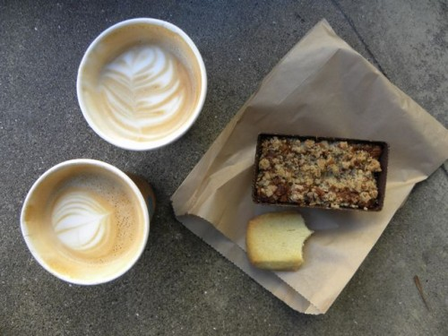 Blue Bottle Coffee and Pastries