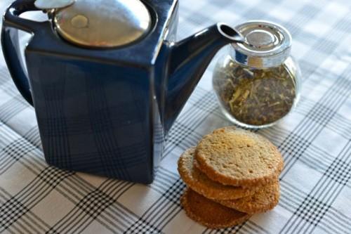 Salted Rye Cookies