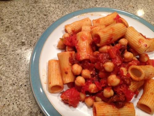 Spicy Tomato Pasta