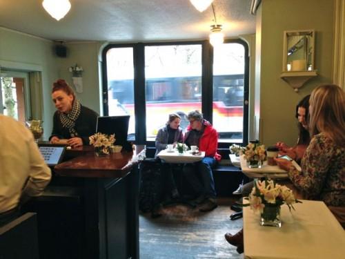 Sterling Coffee Roasters Interior