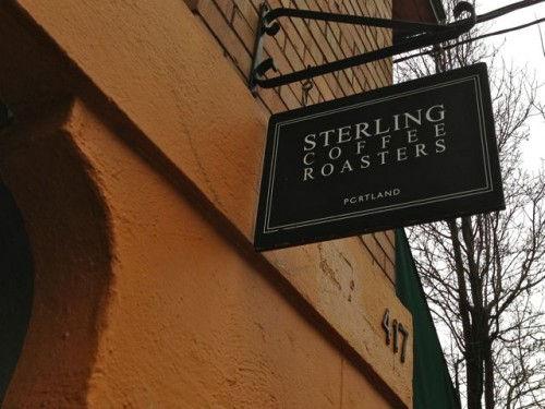 Sterling Coffee Roasters Sign