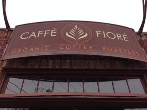 Caffe Fiore Sign